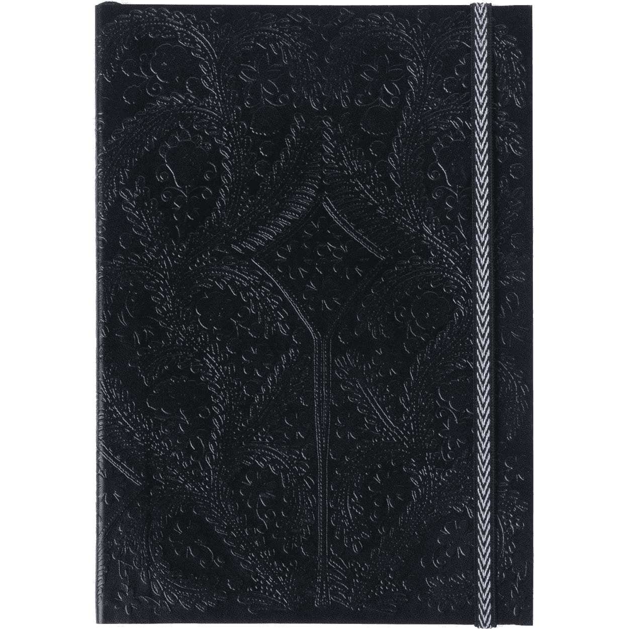 Black Embossed Paseo Notebook Christian Lacroix Notebooks and Journals Christian Lacroix