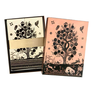 Bois Paradis Die-cut Notecards Christian Lacroix Boxed Notecards Christian Lacroix