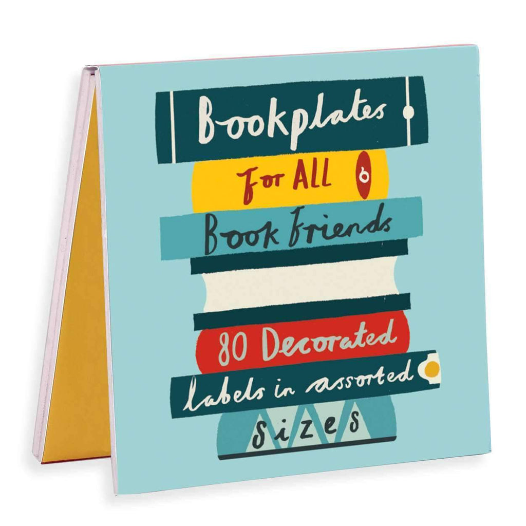Book Friends Bookplates Bookmarks Galison