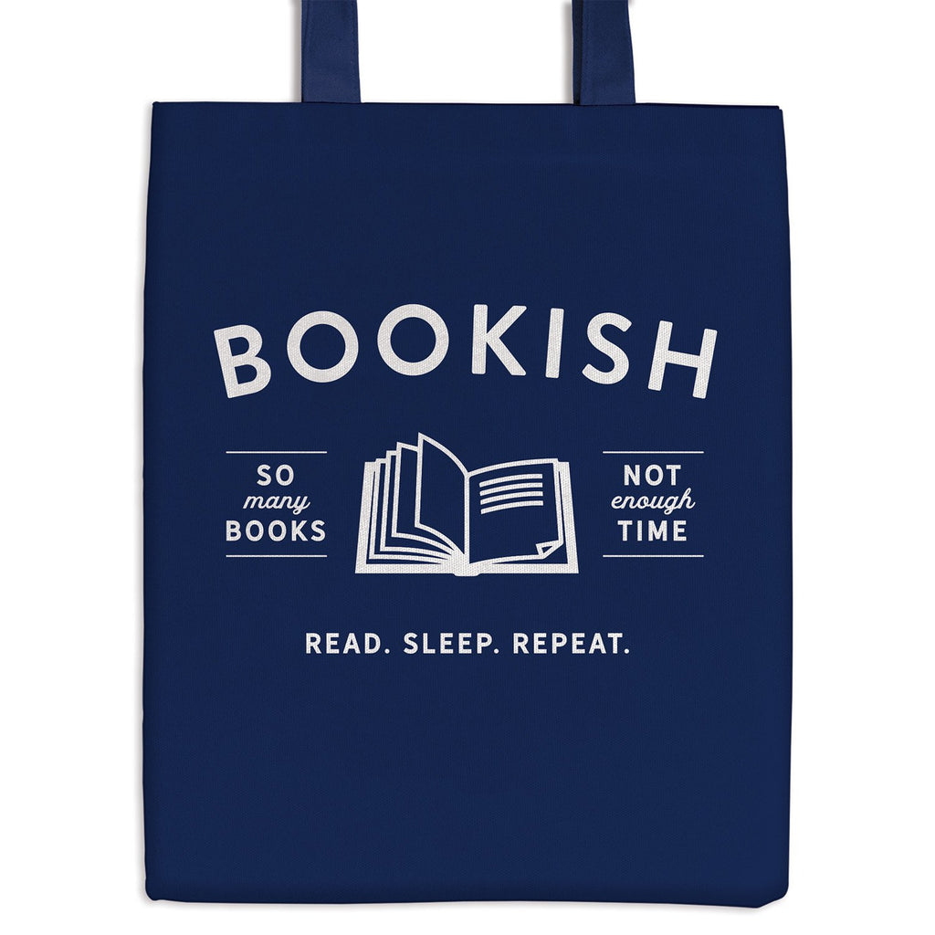 Bookish Canvas Tote Bag Tote Bags Galison