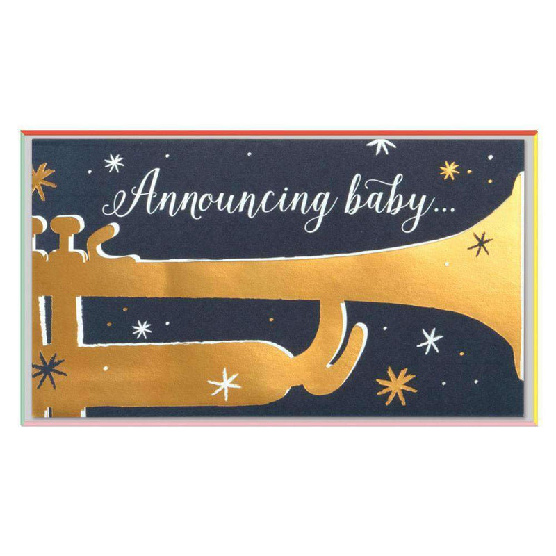 Bugle Boy Notecards Baby Shower Cards Galison