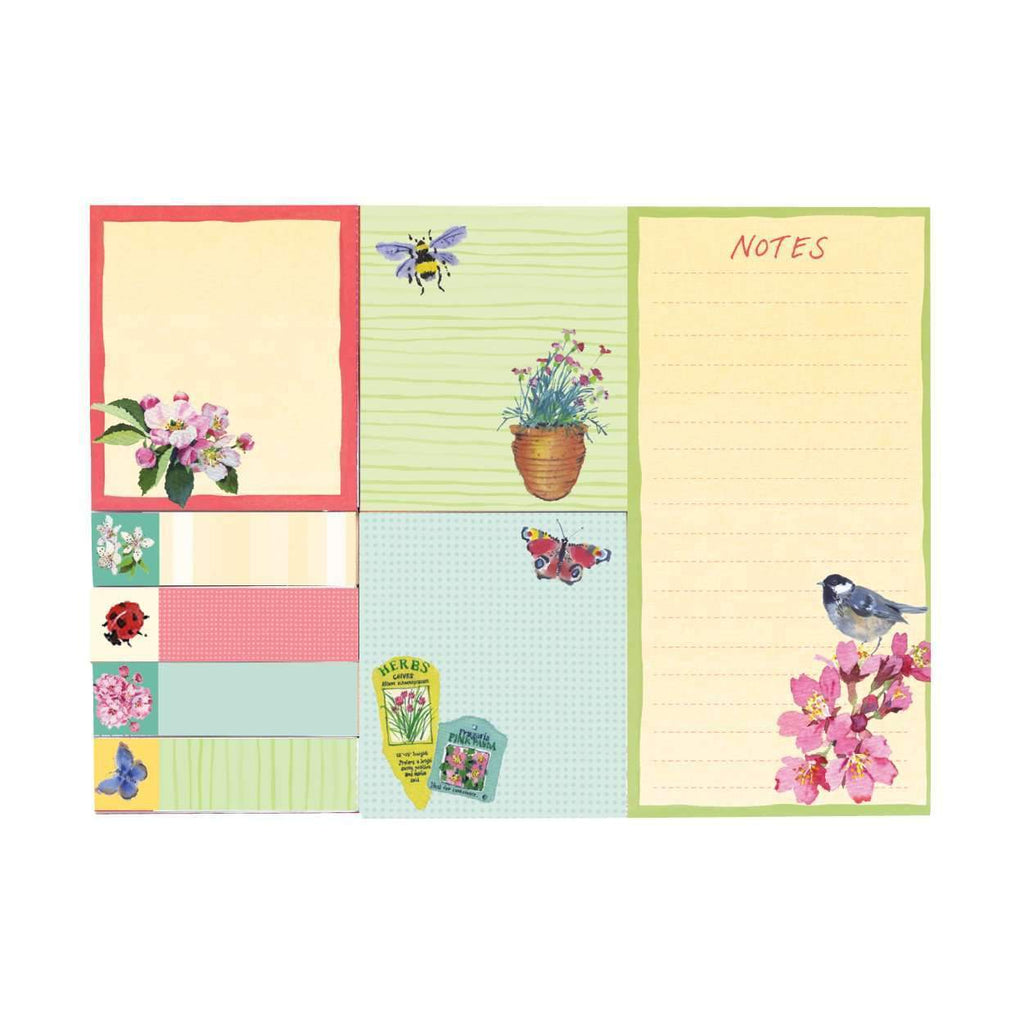 Cherry Blossom Garden Sticky Note Sale Galison