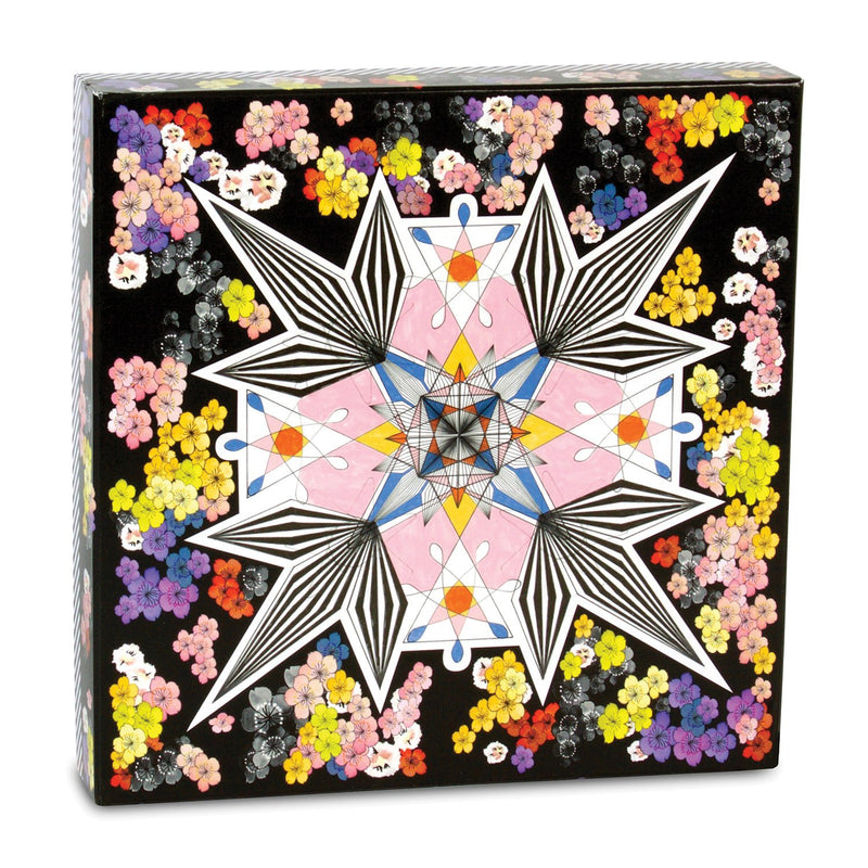 Christian Lacroix Flowers Galaxy Double Sided 500 Piece Jigsaw Puzzle Double Sided 500 Piece Puzzle Christian Lacroix Collection