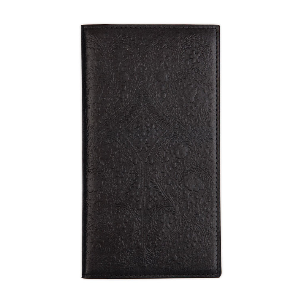 Christian Lacroix Heritage Collection Black Paseo Embossed Travel Journal Journals and Notebooks Christian Lacroix Collection
