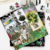 Christian Lacroix Heritage Collection Fashion Season Double-Sided 500 Piece Jigsaw Puzzle Double Sided 500 Piece Puzzle Christian Lacroix Collection