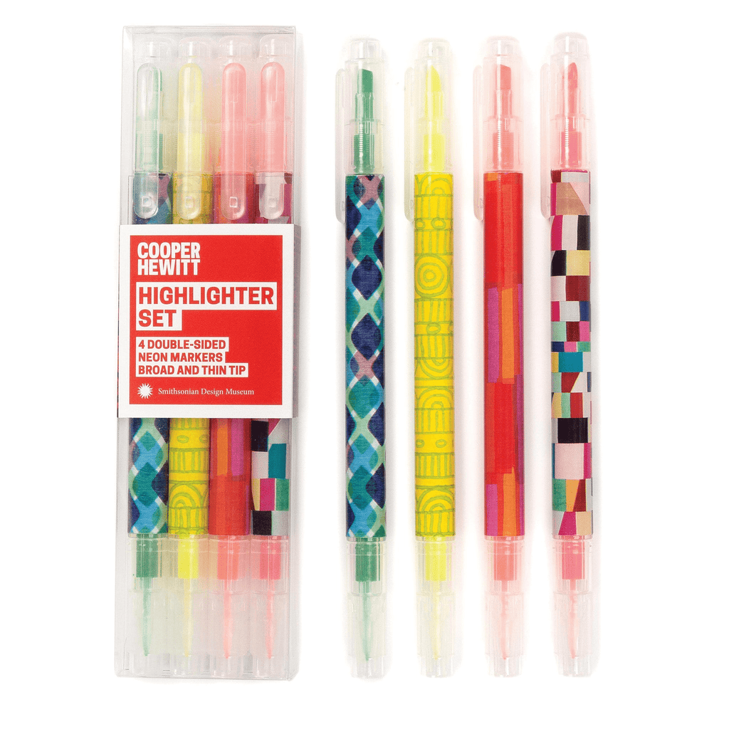 Cooper Hewitt Highlighter Set Sale Galison