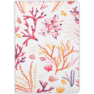 Coral Handmade Emroidered Journal Journals and Notebooks Galison