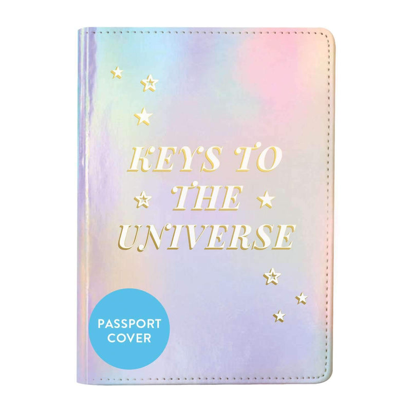 Cosmos 'Keys To the Universe' Passport Cover Travel Accessories Galison
