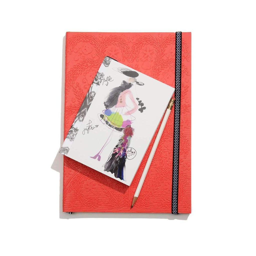 Croquis Fashion Sketch Softcover Notebook Christian Lacroix Notebooks and Journals Christian Lacroix