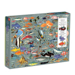 Deepest Dive 1000 Piece Puzzle with Shaped Pieces 1000 Piece Puzzles Ben Giles Collection