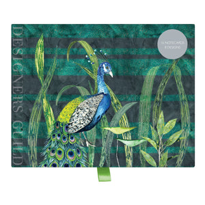 Designers Guild (Blues and Greens) Greeting Assortment Notecard Set Greeting Cards Galison