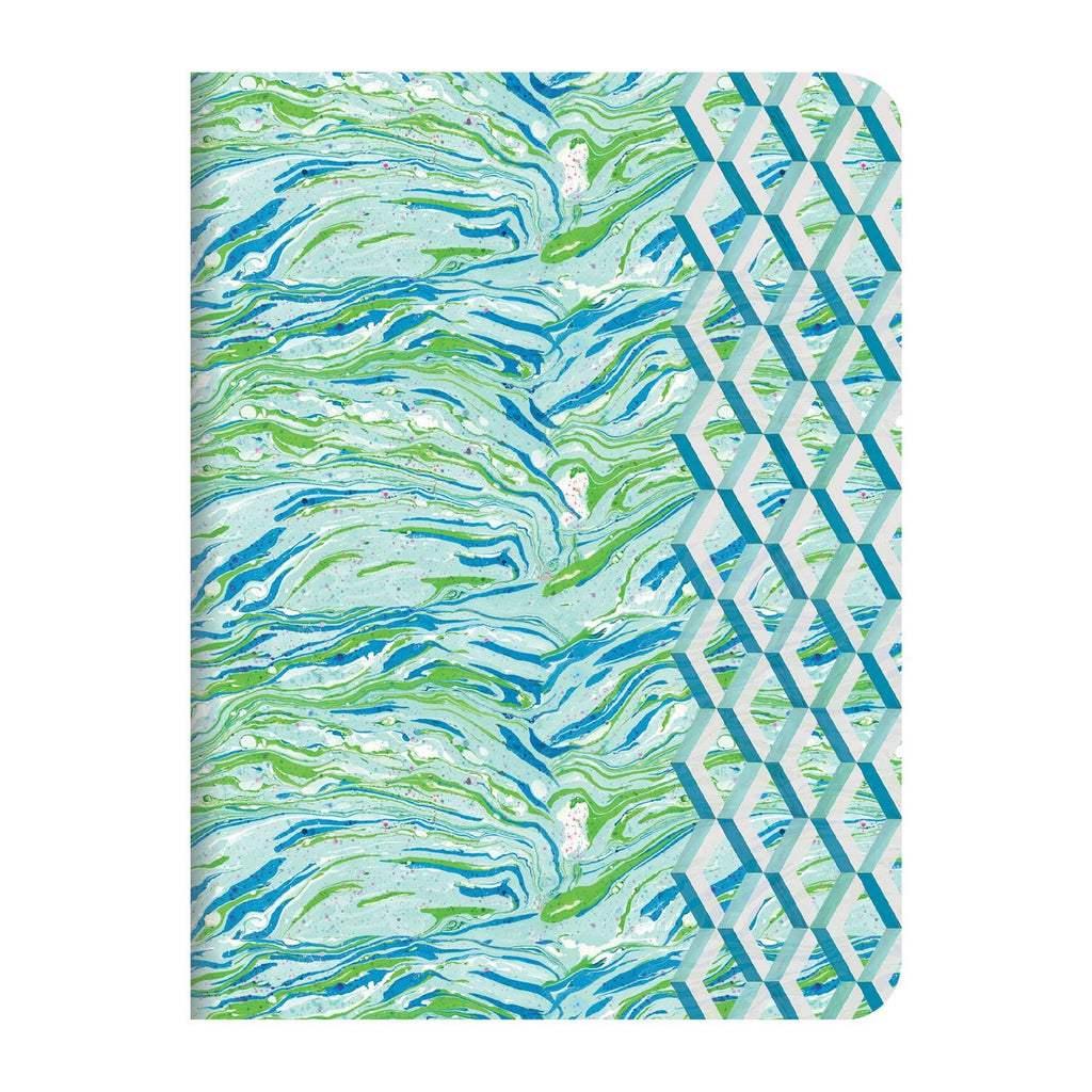Designers Guild-Jourdain Handmade Embroidered A5 Journal Journals and Notebooks Galison