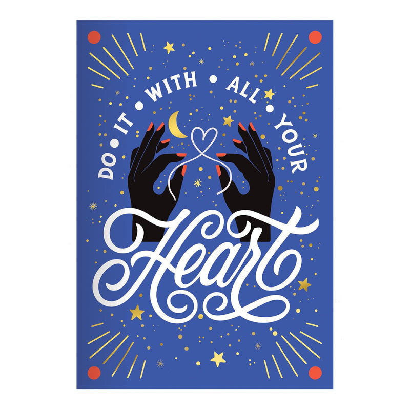 Do It With All Your Heart A5 Undated Planner Planners Galison