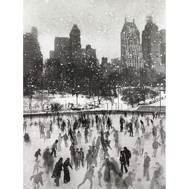 Edward Pfizenmaier Wollman Rink Central Park Full Note Holiday Notecards Galison