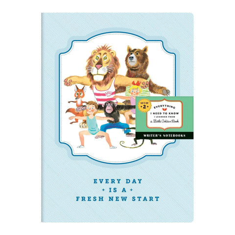 Everything I Need To Know I Learned From A Little Golden Book Shaped Portfolio Notecards