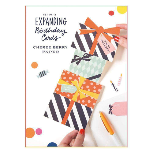 Expanding Birthday Card Set Birthday Cards Galison