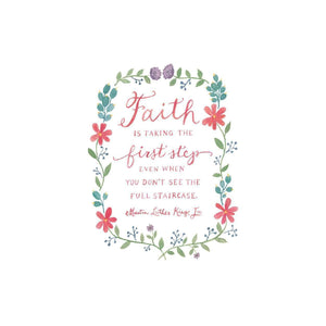 Faith, Love and Hope Luxe Notecards Greeting Cards Galison