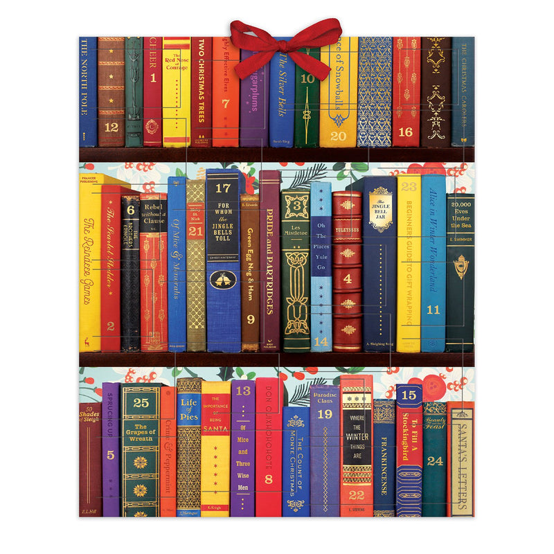 Festive Bookshelf Advent Calendar Advent Calendars Galison