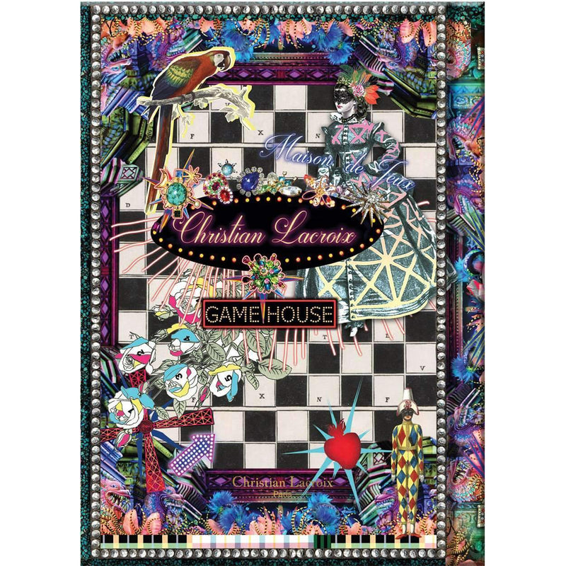 Fete Vos Jeux Hardcover Journal Christian Lacroix Notebooks and Journals Christian Lacroix