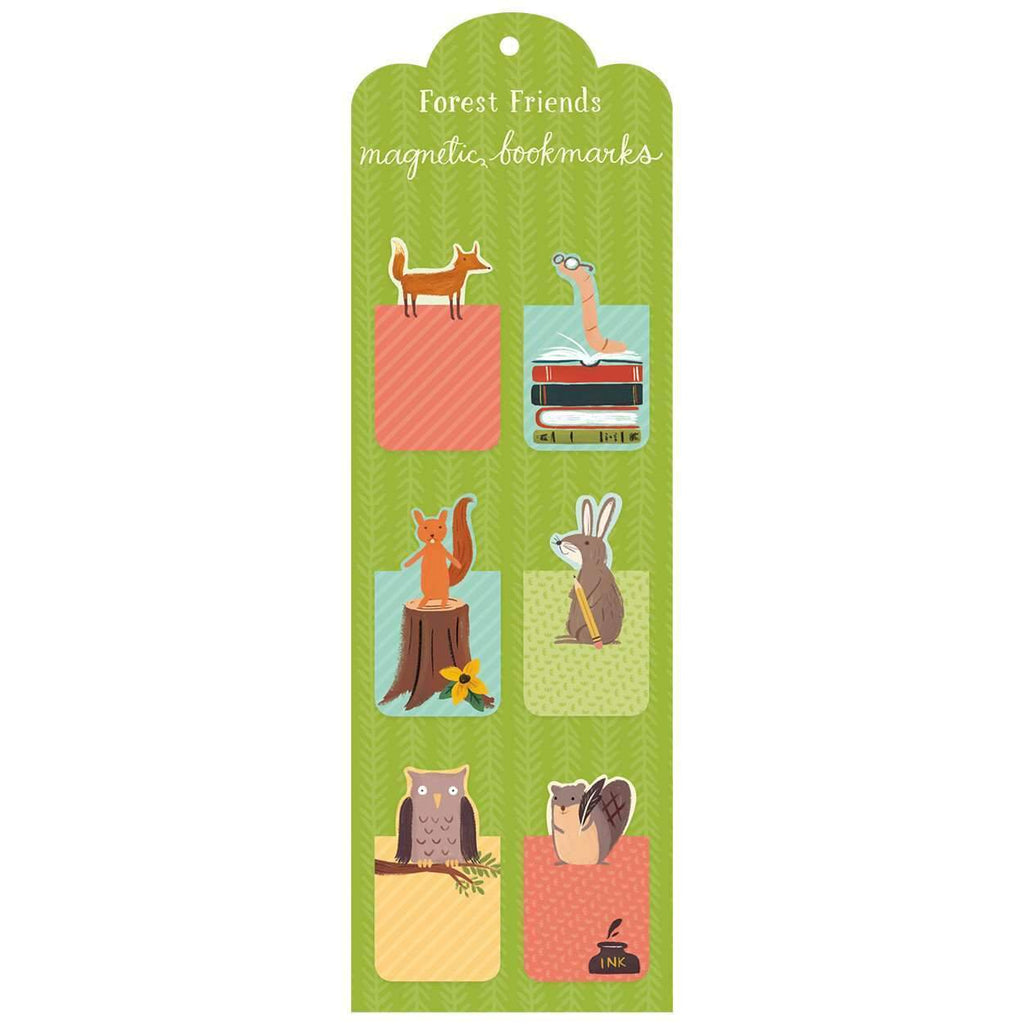Forest Friends Magnetic Bookmarks Bookmarks Galison