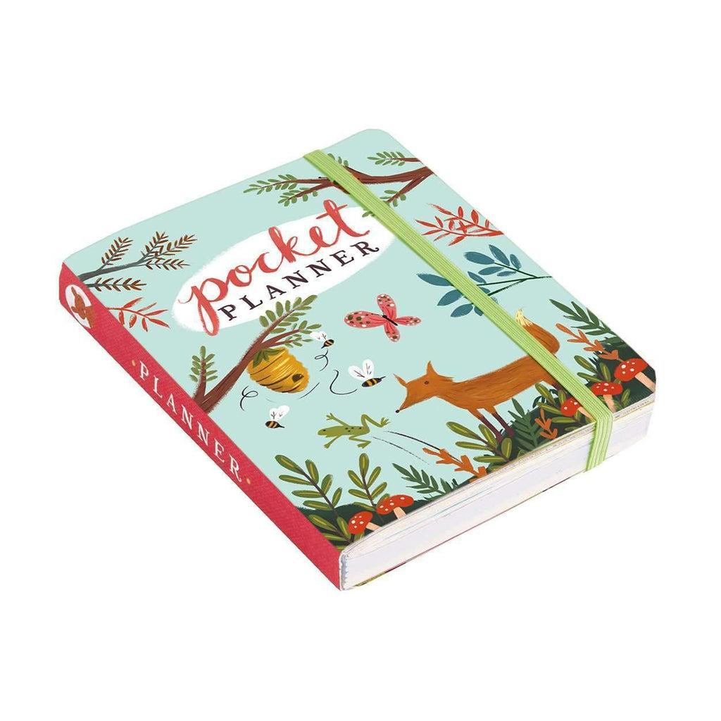 Forest Friends Pocket Undated Planner Sale Galison
