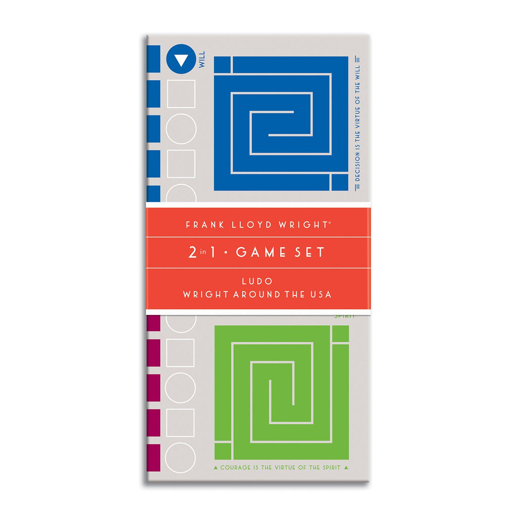 Frank Lloyd Wright 2-In-1 Game Set 2-in-1 Game Sets Frank Lloyd Wright Collection