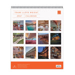 Frank Lloyd Wright 2021 Tiered Wall Calendar Calendars Galison
