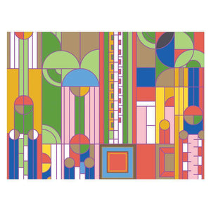 Frank Lloyd Wright Designs Greeting Assortment Greeting Cards Galison