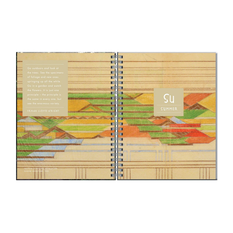 Frank Lloyd Wright Gardener's Journal Journals and Notebooks Galison