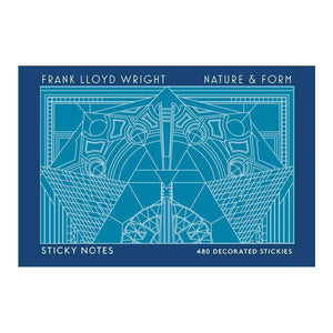 Frank Lloyd Wright Nature & Form Sticky Notes Sticky Notes Galison