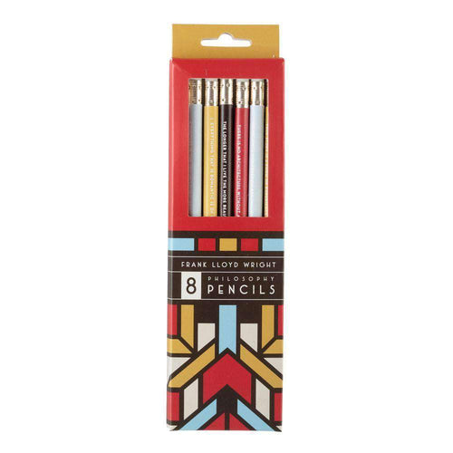 Frank Lloyd Wright Pencil Set Pens and Pencils Galison