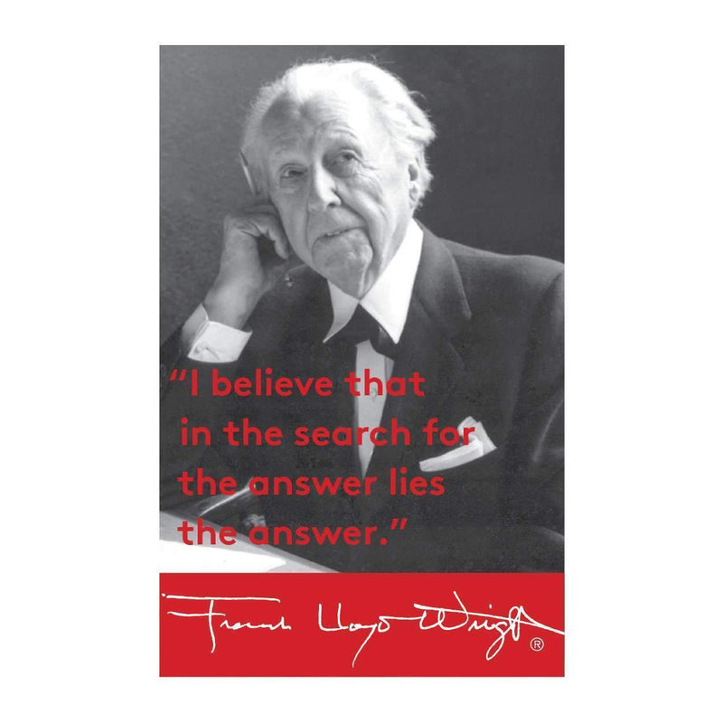 Frank Lloyd Wright Portrait Magnet Magnets Galison