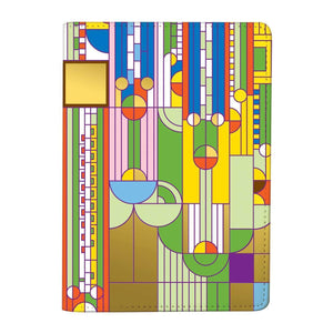 Frank Lloyd Wright Saguaro Passport Cover Travel Accessories Galison