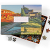 Frank Lloyd Wright Taliesin and Taliesin West Double-Sided 500 Piece Jigsaw Puzzle 500 Piece Puzzles Frank Lloyd Wright Collection