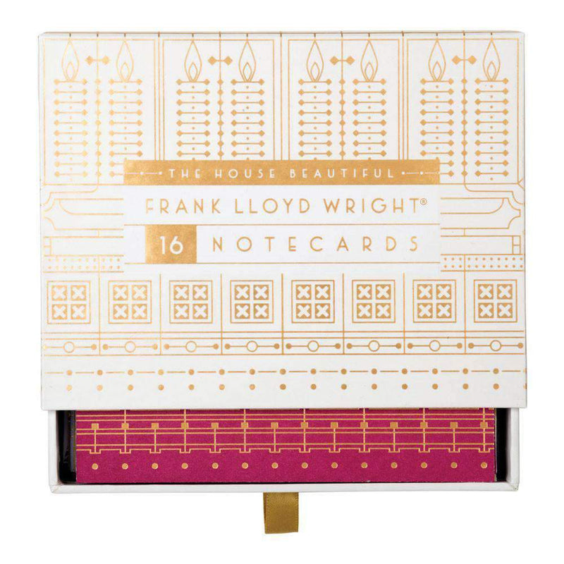 Frank Lloyd Wright The House Beautiful Greeting Assortment Greeting Cards Galison