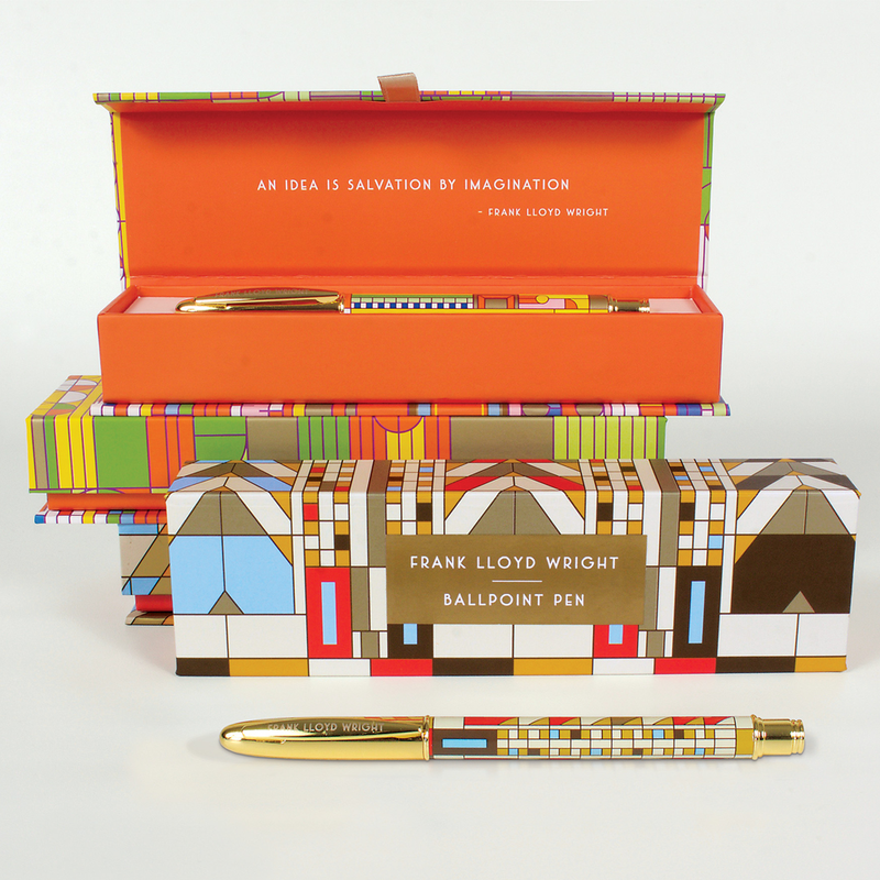 Frank Lloyd Wright Tree of Life Boxed Pen Pens & Pencils Frank Lloyd Wright Collection