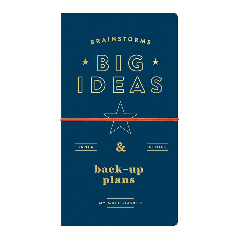 Free Forms Brainstorms, Big Ideas And Back-up Plans Multi-tasker Undated Planner Journal Planners Galison