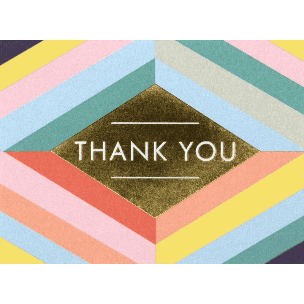 Geometric Pastel Luxe Thank You Notes Thank You Cards Galison