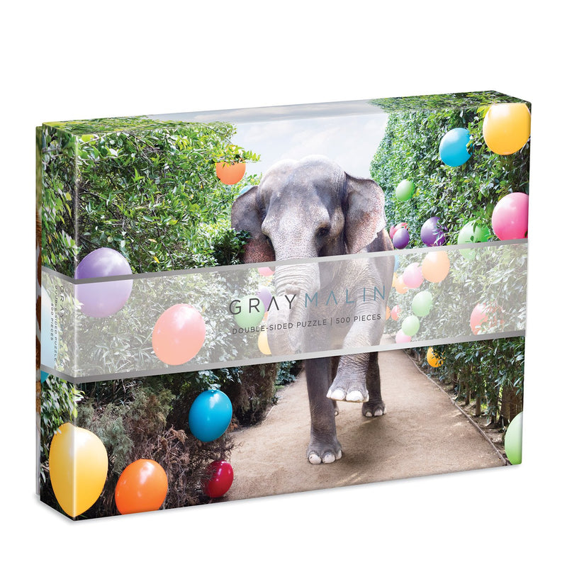Gray Malin at the Parker 500 Piece Double Sided Jigsaw Puzzle Double Sided 500 Piece Puzzle Gray Malin Collection