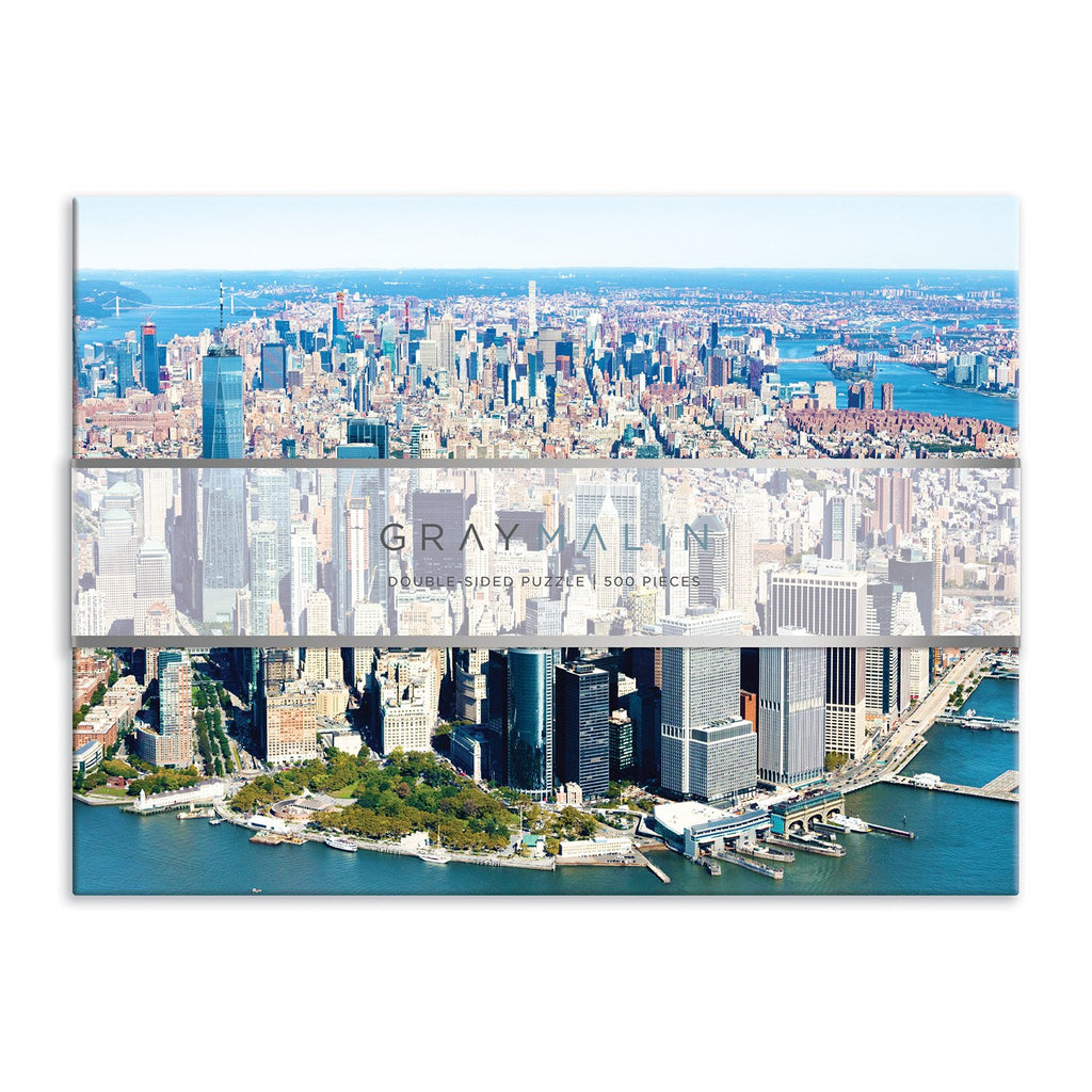 Gray Malin New York City 500 Piece Double Sided Puzzle Double Sided 500 Piece Puzzle Gray Malin Collection