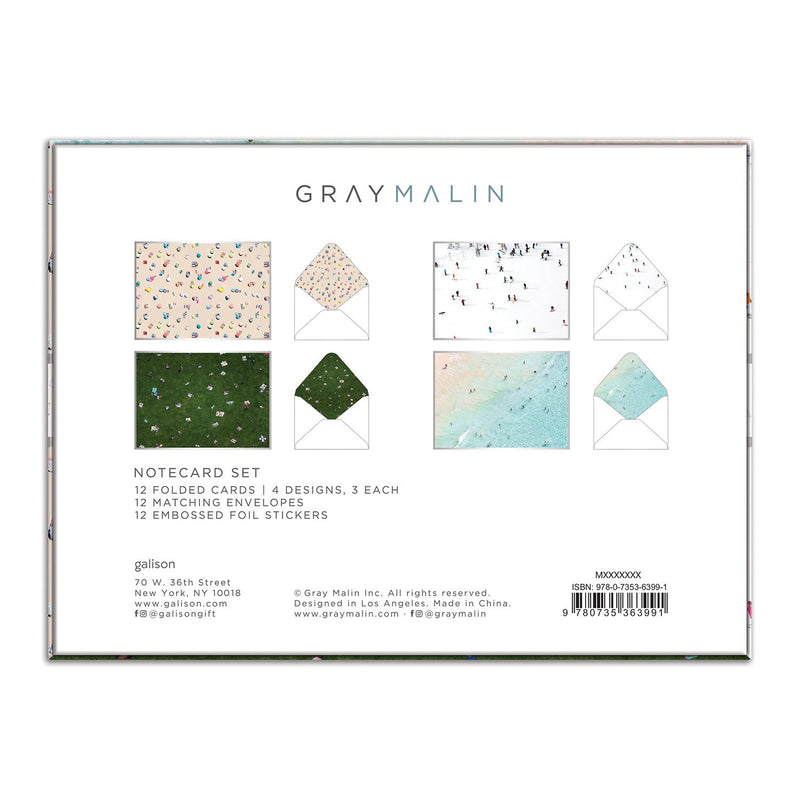 Gray Malin Notecard Set Greeting Cards Gray Malin Collection