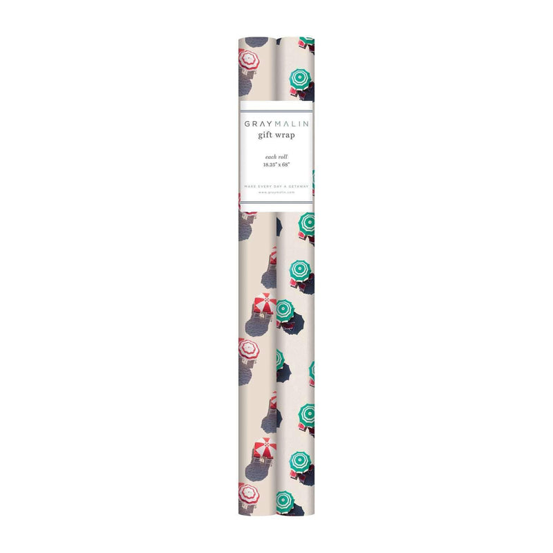 Gray Malin The Beach Gift Wrap Set Gift Wrap Sets Galison