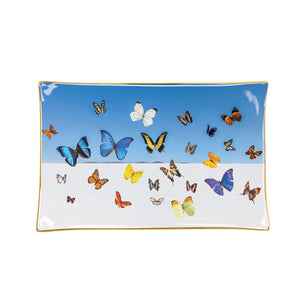 Gray Malin The Butterflies Porcelain Tray Porcelain Trays Galison