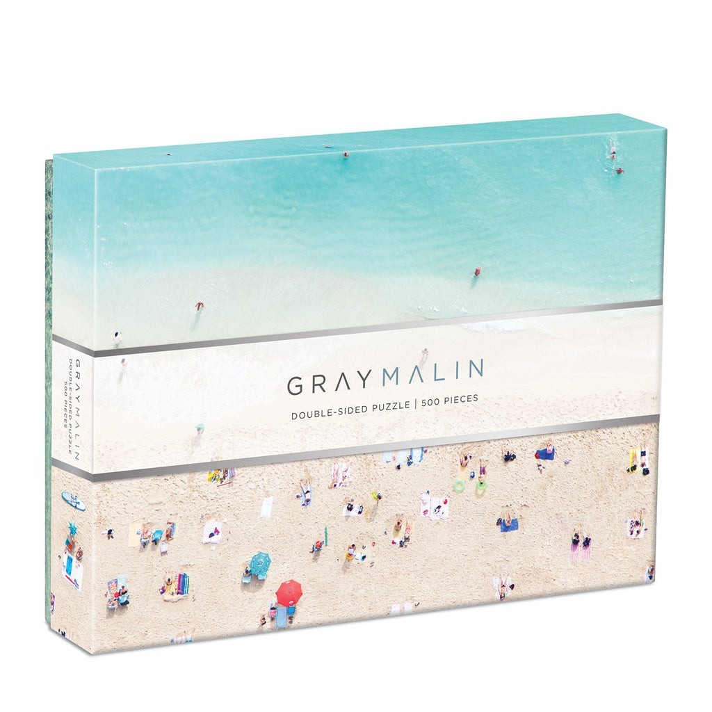Gray Malin The Hawaii Beach Double Sided 500 Piece Puzzle Double Sided 500 Piece Puzzle Galison