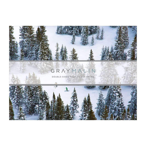 Gray Malin The Snow Two-sided Puzzle 2-sided 500 Piece Puzzles Galison