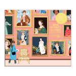 Herstory Museum 1000 Piece Foil Jigsaw Puzzle Foil Puzzles Herstory Museum Collection