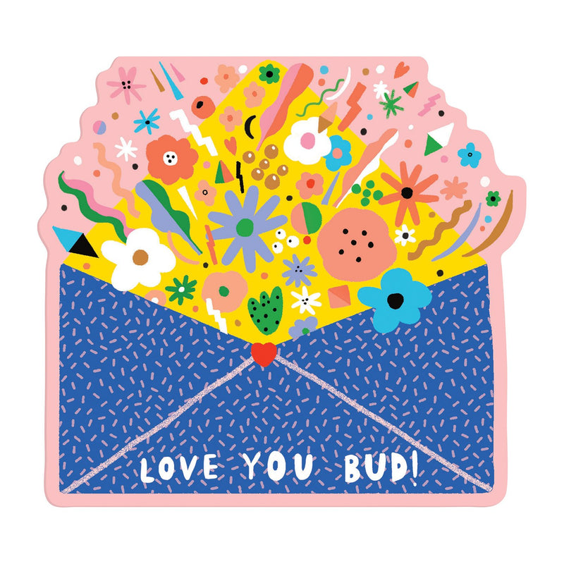 Hey Love Shaped Notecard Portfolio Greeting Cards Galison