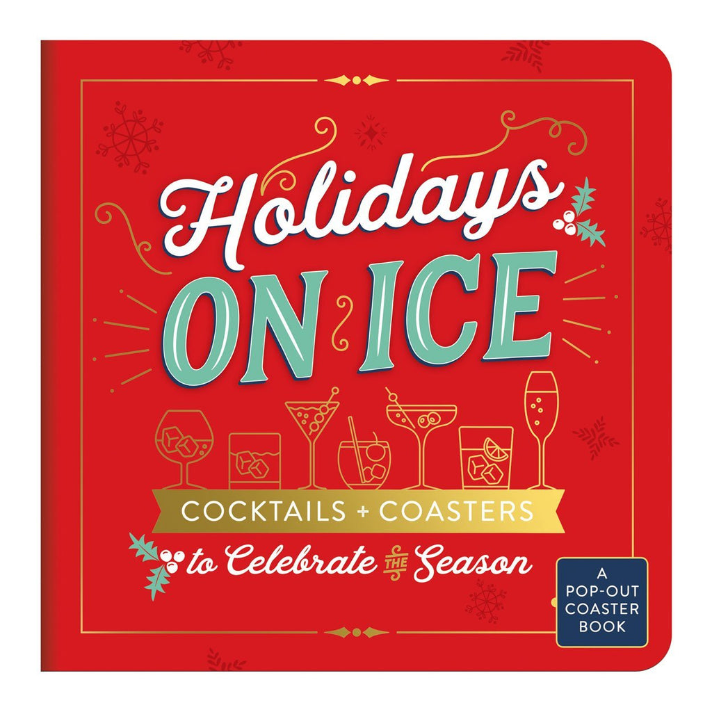 Holidays On Ice Coaster Book Holiday Gifts Galison