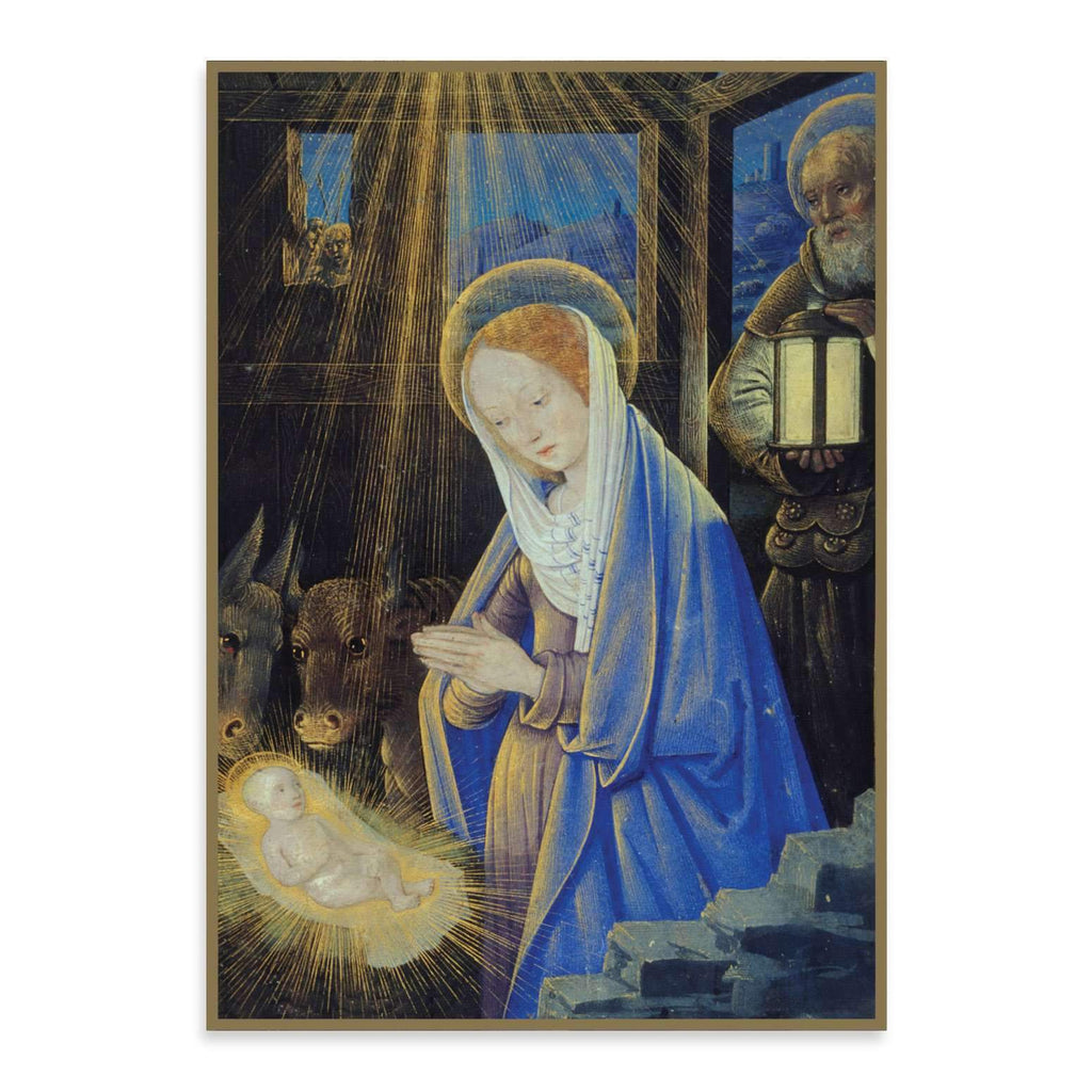 Holy Nativity Half Notecards Holiday Notecards Galison
