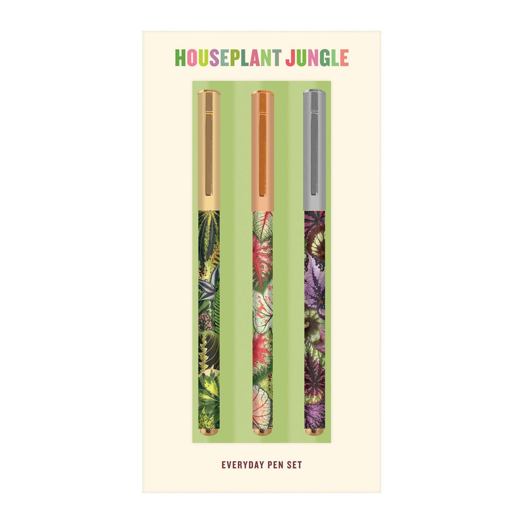 Houseplant Jungle Everyday Pen Set Pens and Pencils Galison